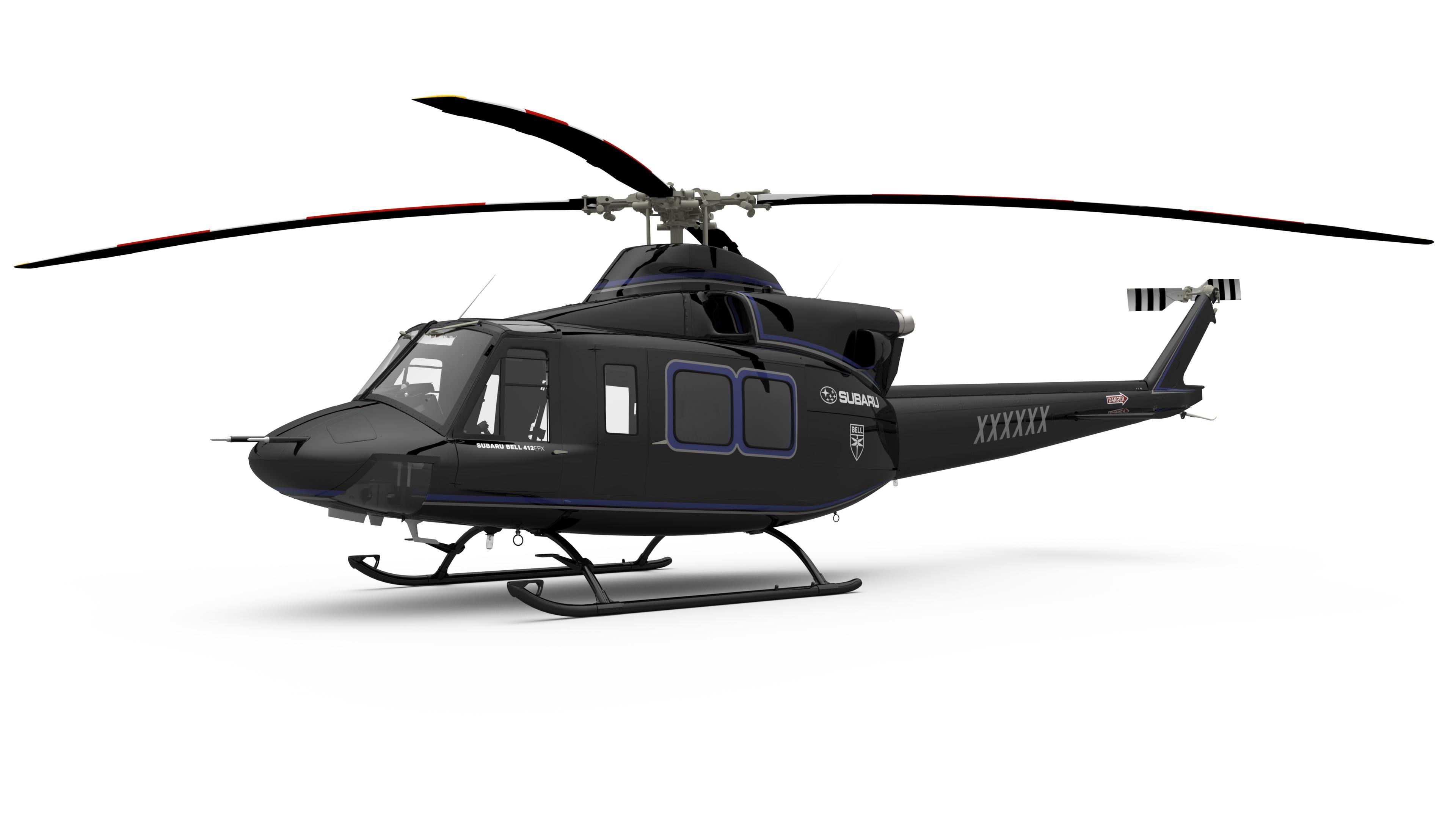 Subaru, otomotiv alanındaki tecrübesini helikopter üretimine de taşıyor.
