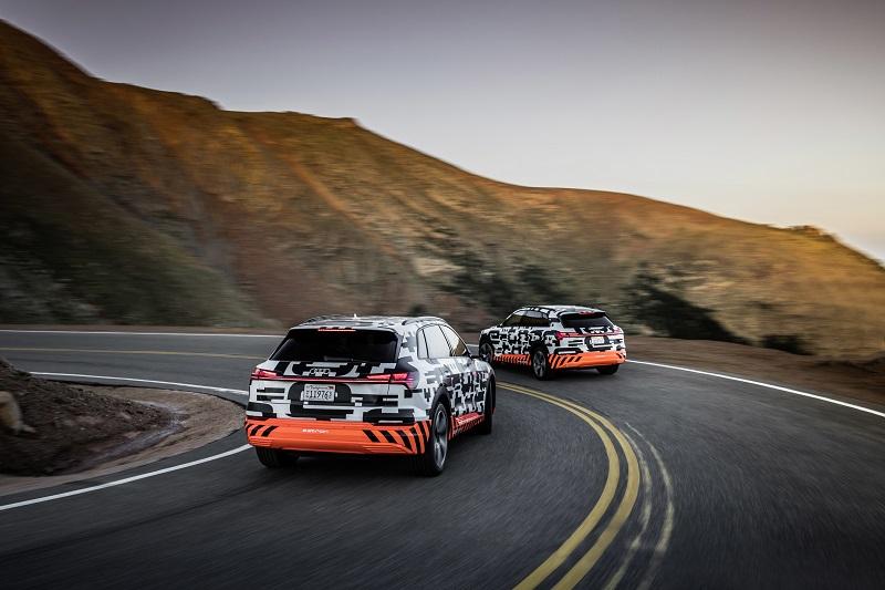 3 farklı geri kazanım sistemiyle yüzde 30 daha fazla menzil: Audi e-tron
